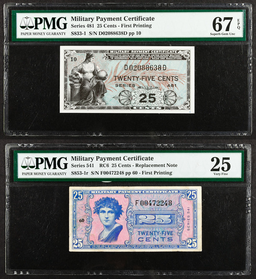 Military Payment Certificate Assortment