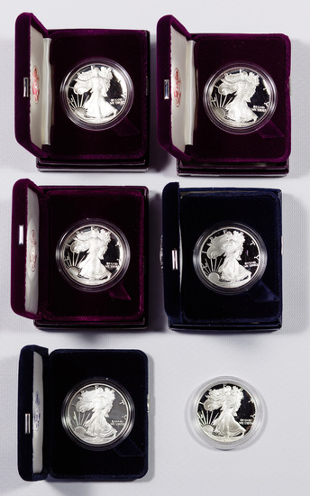 Silver Eagle $1 Proof Collection