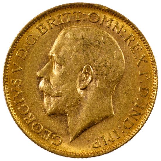 England: 1913 Gold Sovereign