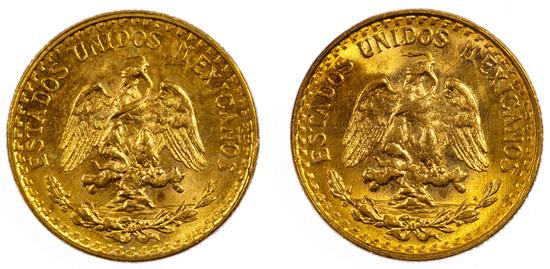 Mexico: 2 Pesos Gold