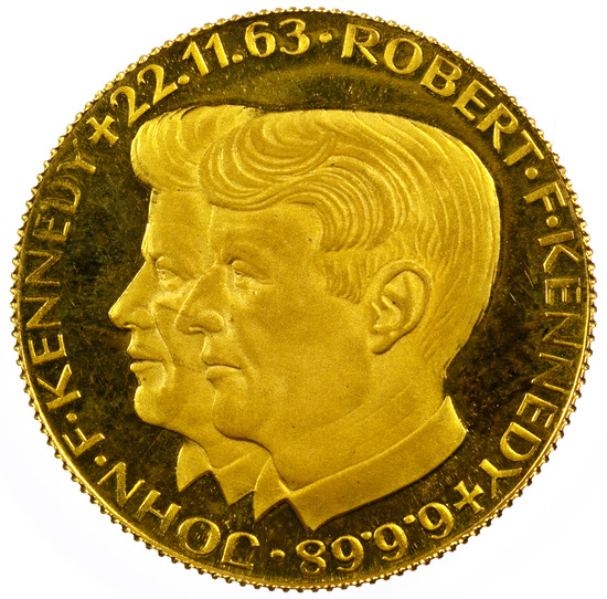 Kennedy Fine Gold (900) Medal