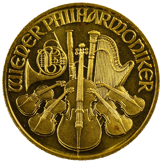 Austria: 1996 Gold 500 Schillings Philharmonic