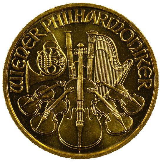 Austria: 1997 Gold 500 Schillings Philharmonic