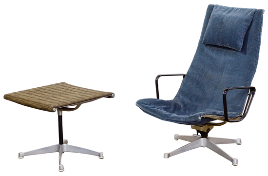 Eames for Herman Miller Chair and Ottoman