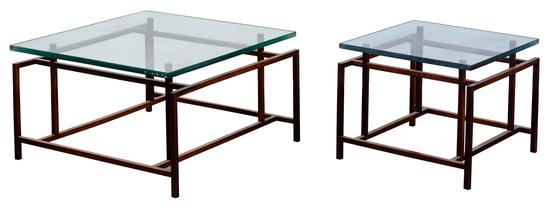 Henning Nogaard for Komfort Mobler Danish Modern Rosewood Tables