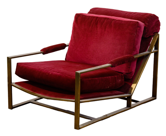 MCM Upholstered Lounge Chair