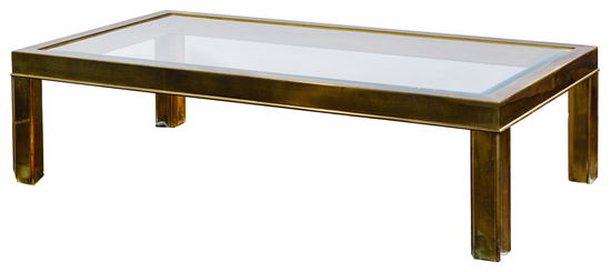 Mastercraft Stainless Steel Coffee Table