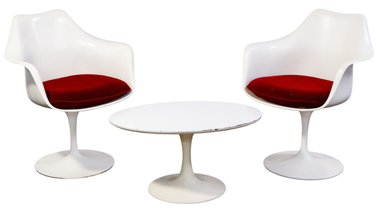 Eero Saarinen for Knoll Tulip Chairs