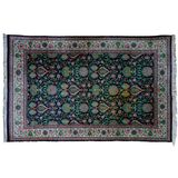 Persian Style Wool Area Rug