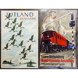 Viggo Vagnby (Danish, 1896-1966) 'Juteland' Poster Assortment