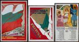 Henri Cassiers (Belgian, 1858-1944) P. Droz (Swiss, 20th C.) Posters