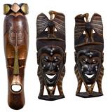 Tiki Wall Mask Assortment