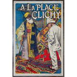 Eugene Grasset (French, 1841-1917) 'A la Place Clichy' Poster