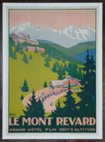 Roger Broders (French, 1883-1953) Le Mont Revard Poster