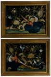 Chinese Reverse Paintings on Glass