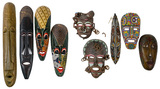 African Style Mask Assortment