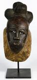 West African Baule Wood Mask
