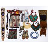 Multi-Cultural Beaded Object Assortment