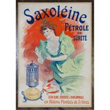Jules Cheret (French 1836-1932) 'Saxoleine' Poster