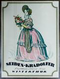 Otto Ernst (Swiss, 1884-1967) Seiden Kradolfer Poster