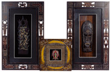 African Style Framed Carving Assortment