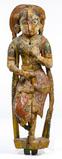 Gujarati Painted Bracket Figure
