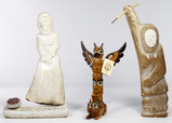 Native American Inuit Carving Assortment