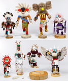 Native American Kachina Doll Assortment