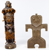 Oceanic and Japanese Sculptures