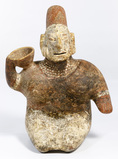 Pre-Columbian Style Jalisco Pottery Figure