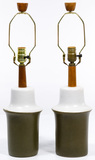 Jane and Gordon Martz for Marshall Studios Ceramic Table Lamps