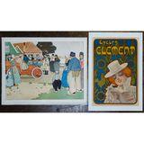 Henri Cassiers (Belgian, 1848-1944) 'Voitures Germain' Poster Assortment
