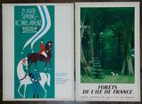 Roger Chapelain (French, 1904-1992) 'Forets de l'Ile de France' Poster