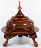 Burmese Lacquerware Vessel