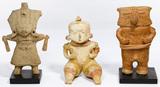 Pre-Columbian Style Pottery Figure Assortment