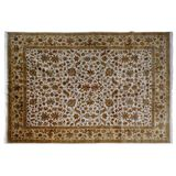 Indo Isfahan Wool Rug