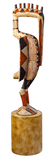 West African Senufo Hornbill Statue