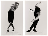 Robert Longo (American, b.1953) 'Men in the Cities' Offset Lithographs