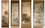 Chinese Scroll Painting Assortment