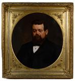 American School Portrait Oil on Canvas