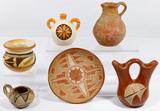 Native American Southwest Pottery Assortment