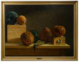 James Disrud (American, b.1952) Oil on Linen