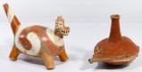 Native American Quapaw Style Effigy Pottery