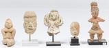 Pre-Columbian Tlatilco Style Figurine Assortment