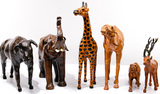 Leather Animal Figure Collection