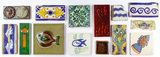 Hand Painted Tile Assortment