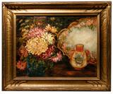 J.B. Benson (American, 20th Century) Oil on Canvas on Board