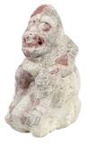 Pre-Columbian Mayan Stucco Figurine