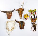 Central American Guatemalan Mask Assortment