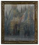 George Wharton Edwards (American, 1859-1950) 'Venice' Oil on Canvas